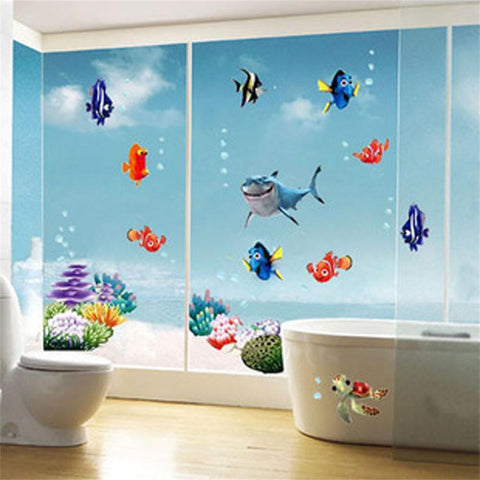 Buy Wall stickers, Wonderful Sea at DekiGo