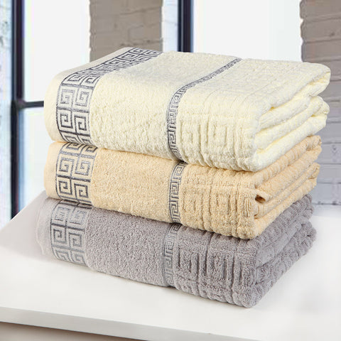Buy Luxury geometric Bath Towel, 100% cotton at DekiGo