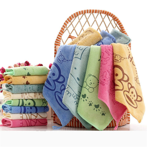 Superfine Fiber Kid's Bath Towels