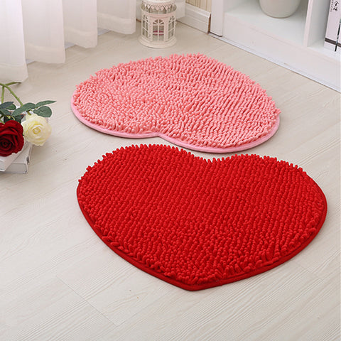 Buy Heart shaped bath rug at DekiGo