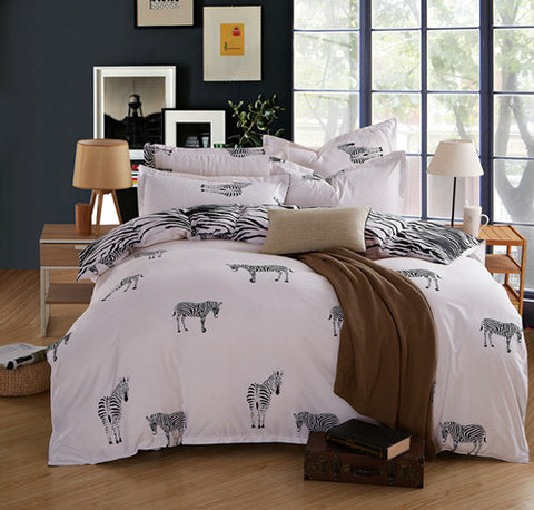 Buy Unihome Promotion !!! Bedding bed linen 3/4pcs Bedding Set duvet set bed set bed linen TYBO90D at DekiGo