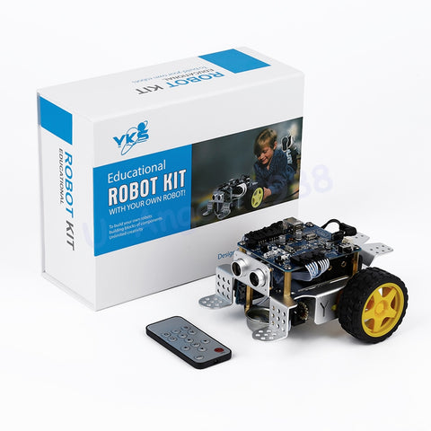 Programmable Kids Toys - Fun DIY Smart Robot Car Kit