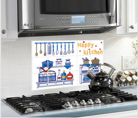High Temperature Aoil Anti Oil Stove Kitchen Stickers