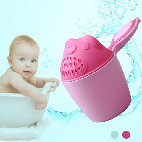 Baby Shampoo Shield Shower Cup Cap