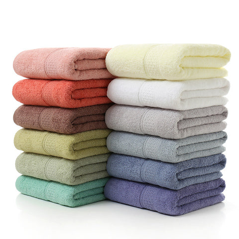 100% Cotton Solid 70x140cm Bath Towel