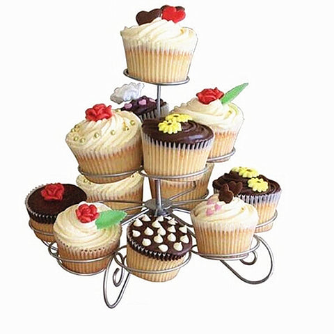 Buy 3 Tier Wire Cupcake Stand at DekiGo