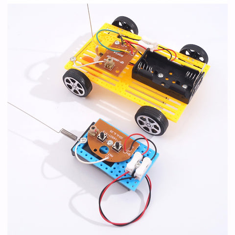 DIY STEM Toys for Children Physical Scientific Experiment - Remote control car