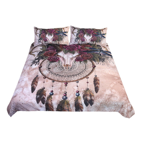 Buy Mystery Skull Bedding Set at DekiGo bedding