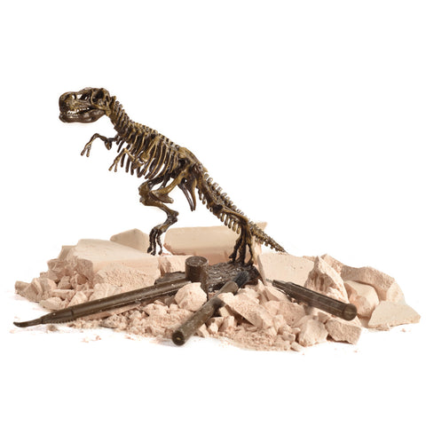 Buy Dinosaur Science Kit Dig Up Dino Fossils and Assemble a T-Rex Skeleton, Mammoth,Triceratops at DekiGo educational toy