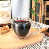 Buy Double Wall Glass Coffee Mug at DekiGo coffee mug, cup