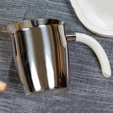 Buy Stainless Steel Pitcher Coffee Filter Kettle Coffee Art Cups at DekiGo coffee mug