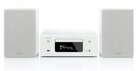 Denon CEOL N10 HI-FI NETWORK CD RECEIVER - White