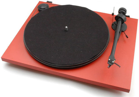Pro-ject Essential II Turntable - Red