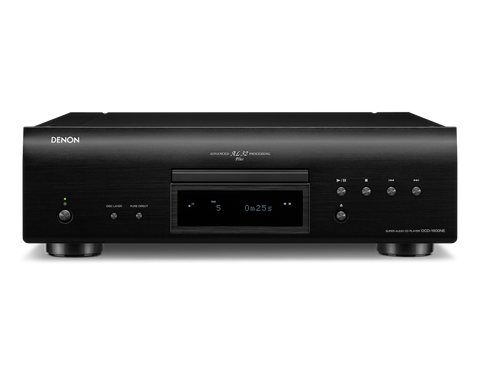 Denon DCD-1600NE Super Audio CD Player - Black