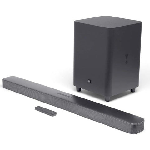 JBL Bar 5.1 Surround Soundbar With MultiBeam Sound Technology - Black
