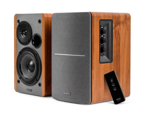 Edifier R1280DB Active Bookshelf / Multimedia Speaker Bluetooth - Brown