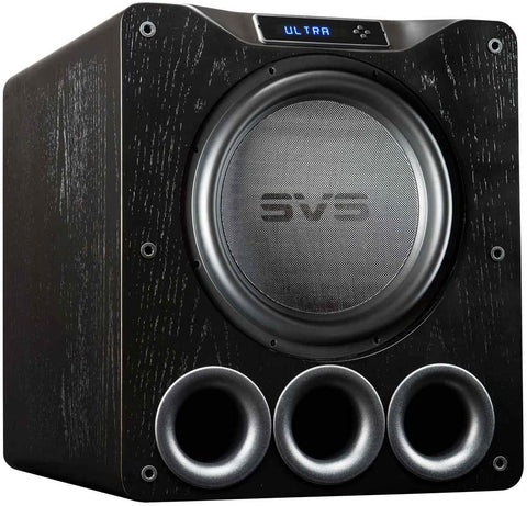 SVS PB16-Ultra Subwoofer - Black Ash