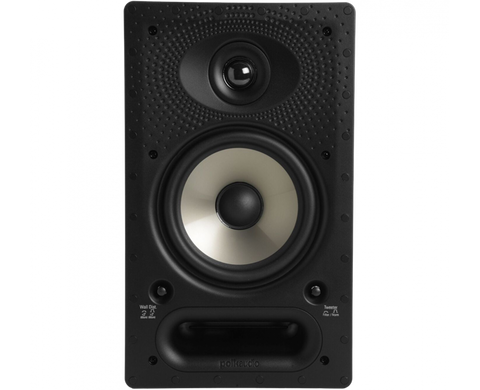 polk 65-RT Vanishing RT Series In-Wall Rectangular Loudspeaker - each  - White