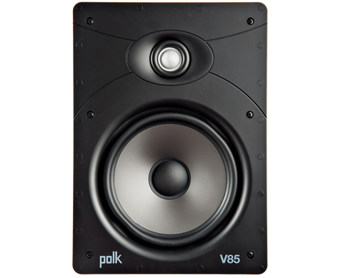 polk V85 Vanishing V Series High-Performance In-Wall Speaker - each - White