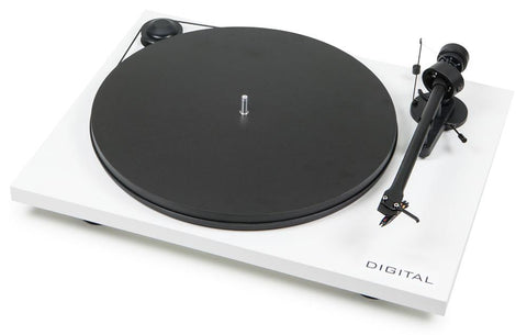 Pro-ject Essential II Digital Turntable - White