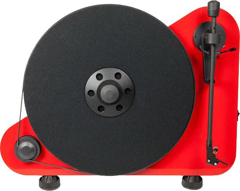 Pro-Ject VT-E Turntable - Red