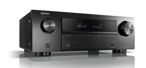 Denon AVR-X550BT 5.2 Ch. AV Receiver with Bluetooth - Black
