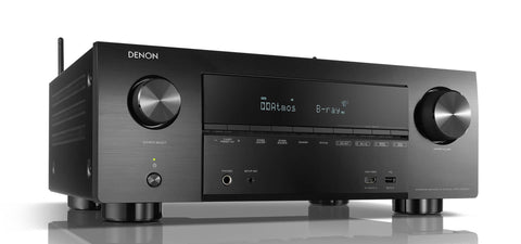 Denon AVR-X3600H 9.2ch 4K AV Receiver with 3D Audio and HEOS Built-in® - Black
