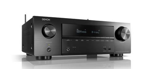 Denon AVR-X1600H 7.2ch 4K Ultra HD AV Receiver with 3D Audio and HEOS Built-in® - Black