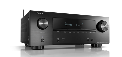 Denon AVR-X2600H 7.2ch 4K Ultra HD AV Receiver with 3D Audio and HEOS Built-in® - Black