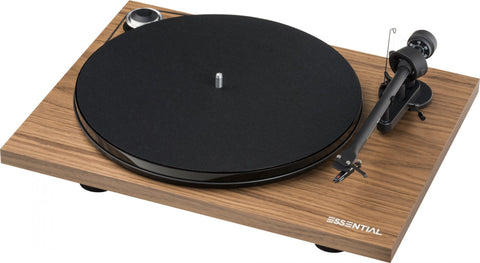 Pro-Ject Essential III Turntable - Walnut