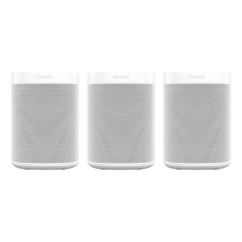 SONOS One SL Three Room Set - White