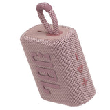 JBL Go 3 Portable Waterproof Bluetooth Speaker - Pink