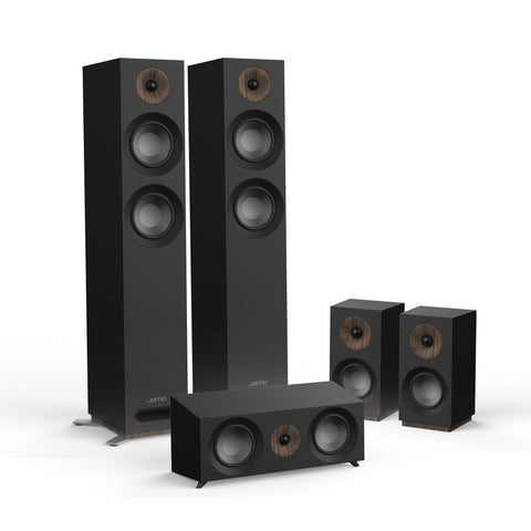 Jamo S807 HCS 5.0 Surround Sound Speaker Package - Black