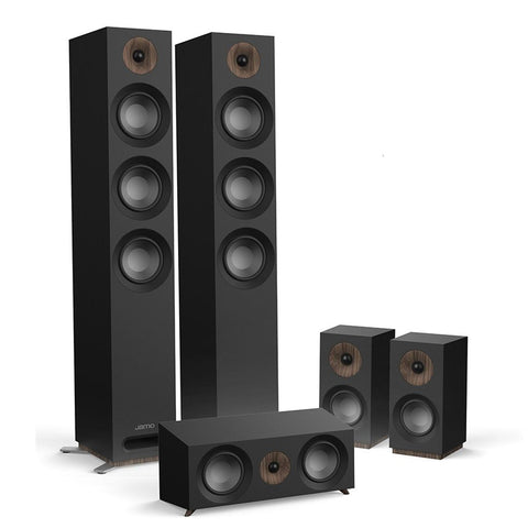 Jamo S809 HCS 5.0 Surround Sound Speaker Package - Black