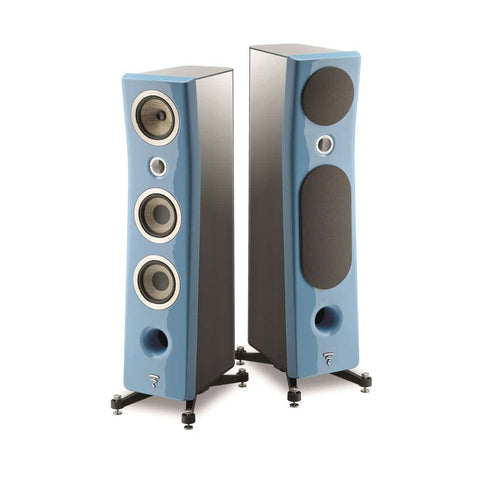 FOCAL KANTA N2, 3-WAY FLOORSTANDING SPEAKERS - pair - Black & Blue