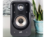 polk Signature S20e Bookshelf Speakers - pair - Black