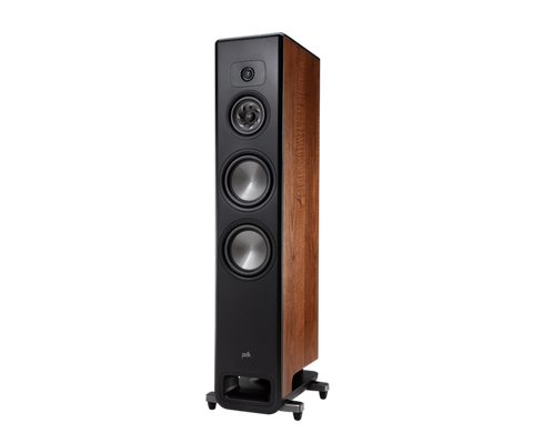 Polk LEGEND L600 Series Premium Floorstanding Tower Loudspeaker - pair - Walnut Brown