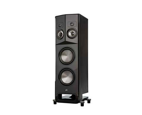 Polk LEGEND L800  Series Premium Floorstanding Tower Speakers - pair - Black Ash