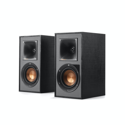Klipsch R-41PM Powered Bookshelf Speakers - pair - Black