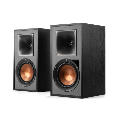 Klipsch R-51PM Powered Bookshelf Speakers - pair - Black