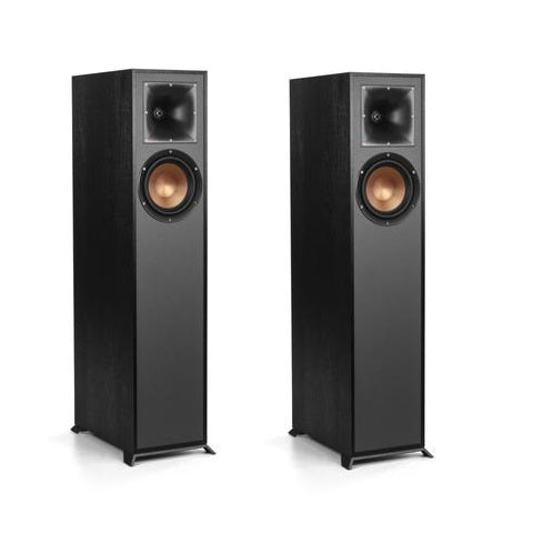 Klipsch R-610F Floorstanding speakers - pair - Black