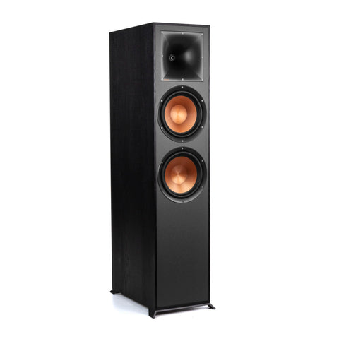 Klipsch R-820F Floorstanding Speakers - pair - Black