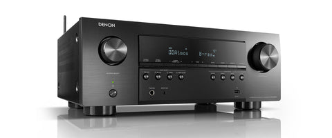 Denon AVR-S960H 7.2ch 8K AV Receiver with 3D Audio, Voice Control and HEOS Built-in