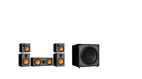 Monitor Audio SM100 / SM50  5.1 Speaker Packages - Black