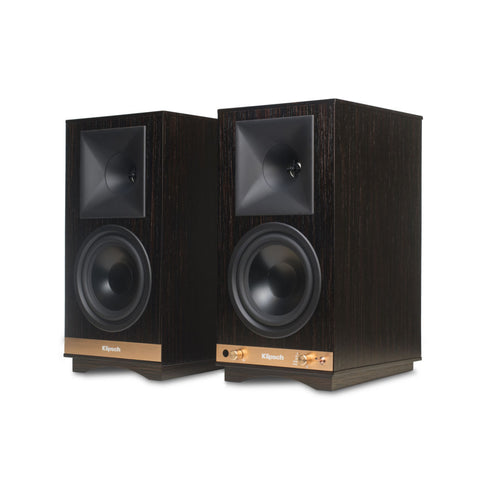Klipsch THE SIXES Powered Speakers - Pair - Ebony