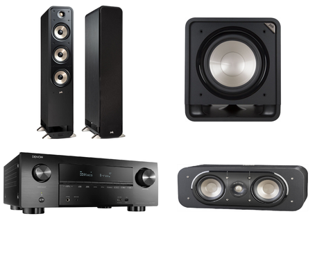 Polk Audio Signature Series S60E 3.1 System - Black