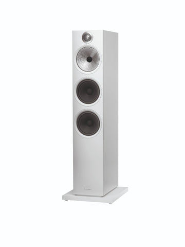 Bowers & Wilkins 603 Floorstanding Speakers – pair - Matte White