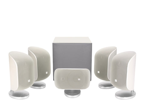 Bowers & Wilkins MT-50 Home theatre system – Matte White