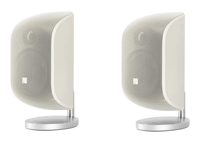 Bowers & Wilkins M-1 Satellite speakers – pair – Matte White