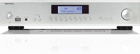 Rotel A12 Integrated Amplifier - Silver